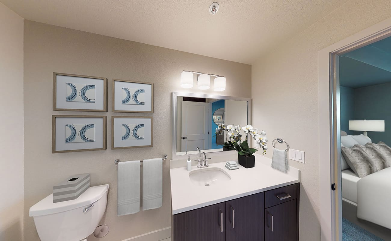 MODERN COLLECTION: B3.1 • CALDER Master Bath