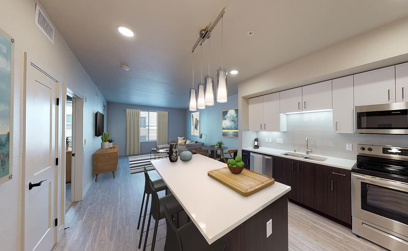 A3.1 • ROCKWELL Kitchen/Dining/Living