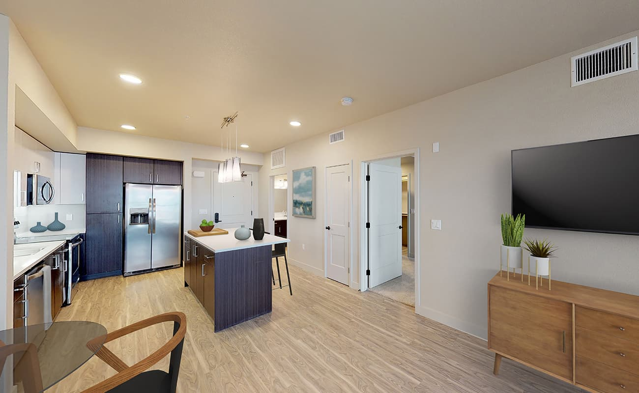A3.1 • ROCKWELL Living/Dining/Kitchen