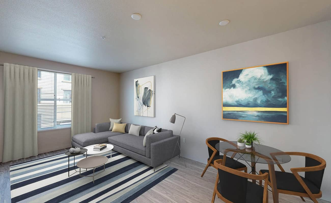 A3.1 • ROCKWELL Living/Dining